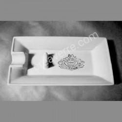 cendrier cigare porcelaine blanche  Maison D'hondt