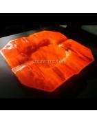 Cendriers en verre fusionné